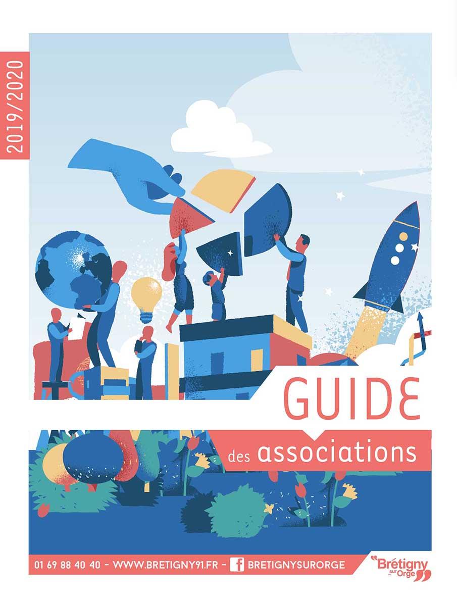 Couverture Guide des associations 2019-2020