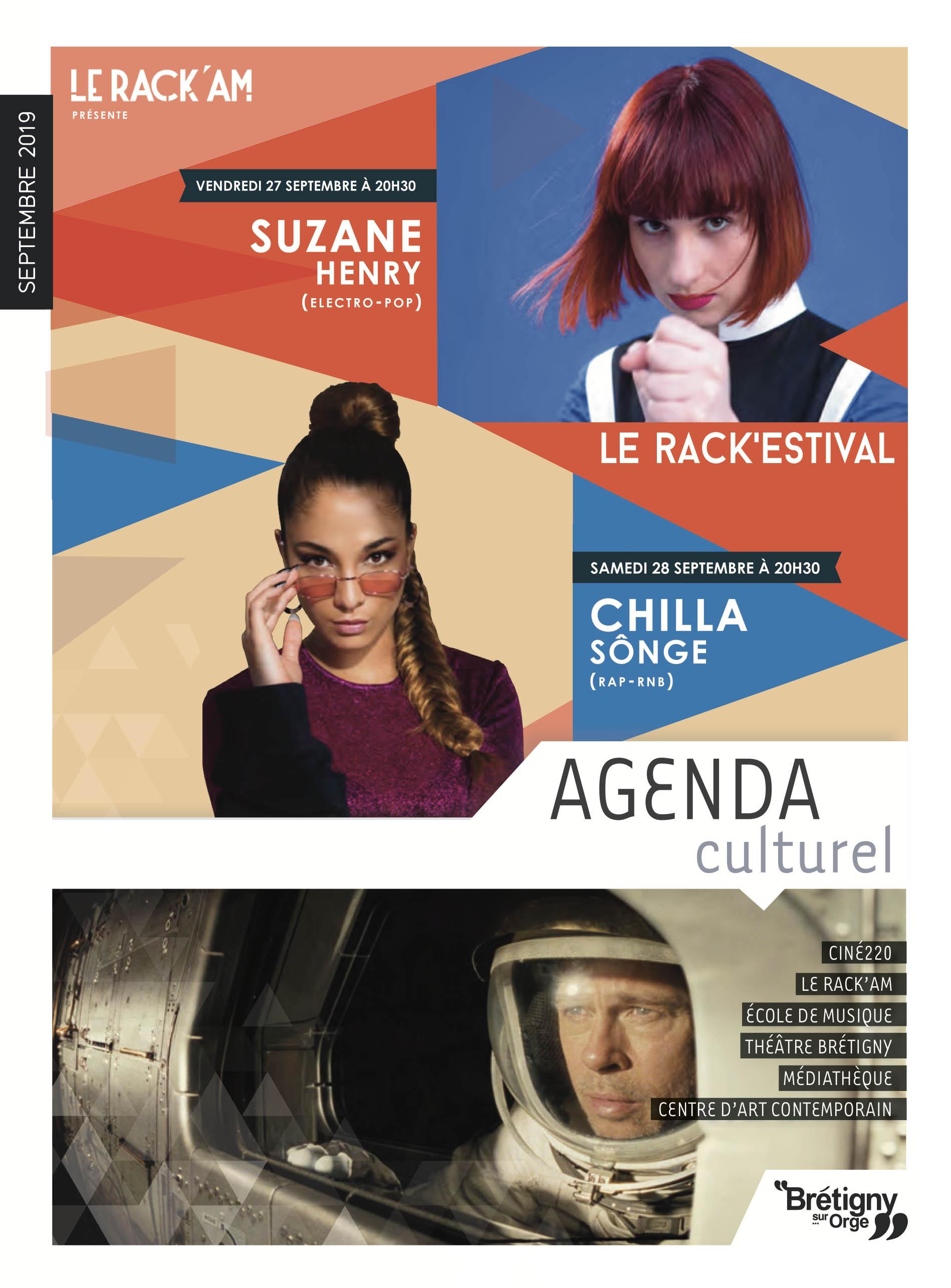L'agenda culturel de septembre 2019