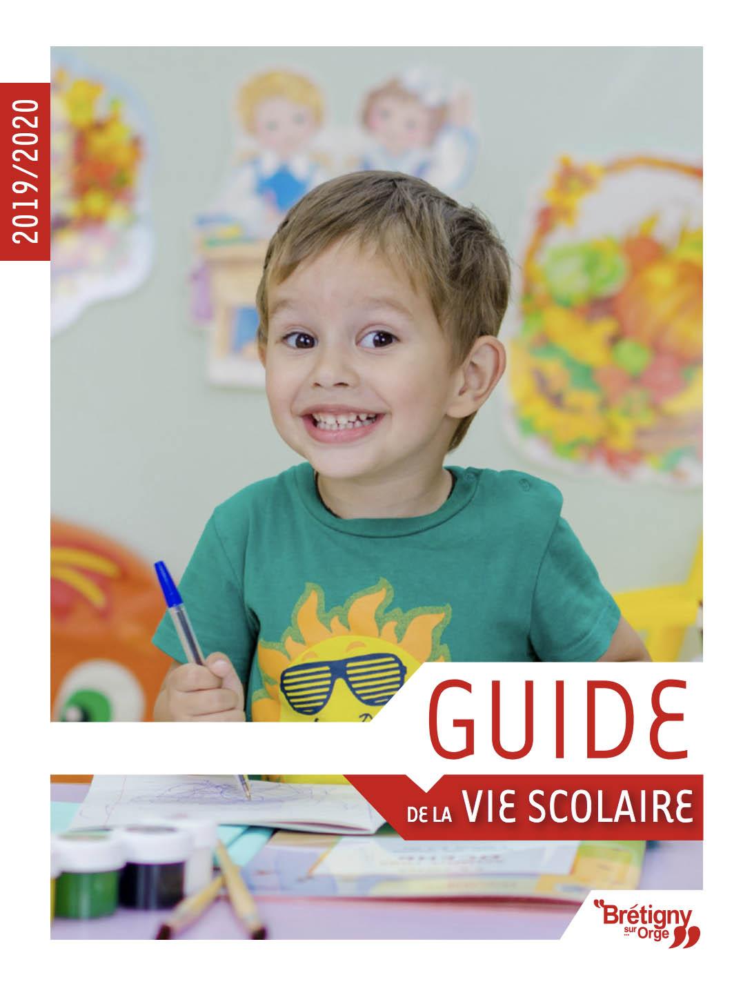 Couverture Le guide de la vie scolaire