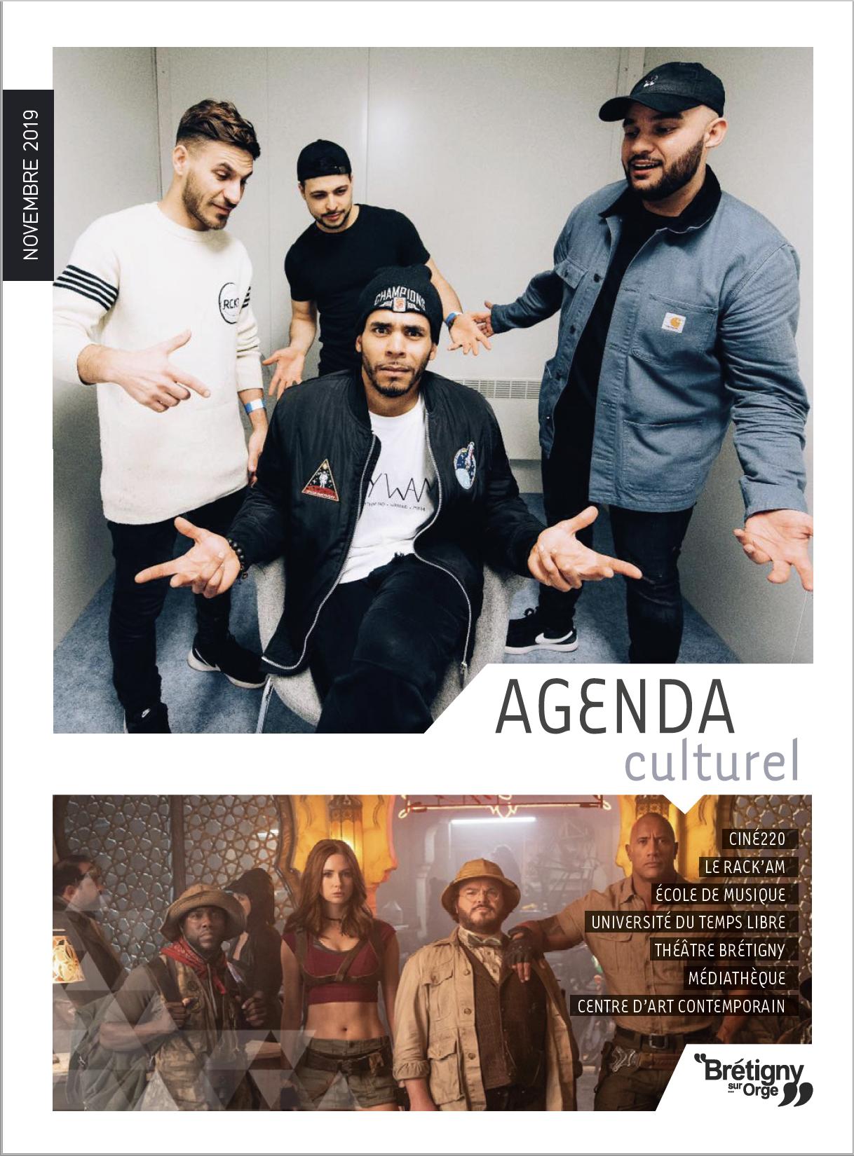 Agenda culturel Novembre 2019