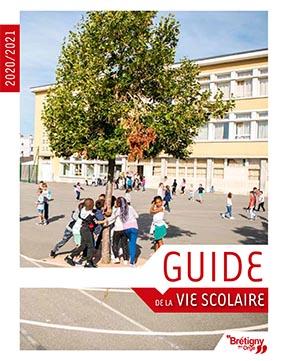 Couverture Guide de la vie scolaire 2020-2021