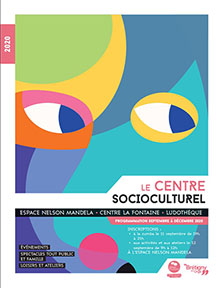 Couverture Plaquette centre Socioculturel (sept – dec) 2020