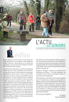 L'actu Des Seniors (Avril 2021)