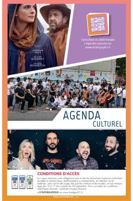 Couverture Agenda culturel – Septembre 2021