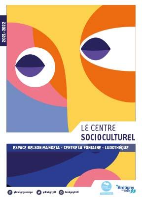 Couverture Guide du Centre Socioculturel 2021